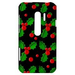 Christmas berries pattern  HTC Evo 3D Hardshell Case