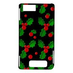 Christmas berries pattern  Motorola DROID X2