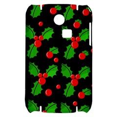Christmas berries pattern  Samsung S3350 Hardshell Case
