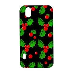 Christmas berries pattern  LG Optimus P970