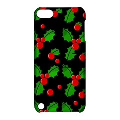 Christmas berries pattern  Apple iPod Touch 5 Hardshell Case with Stand
