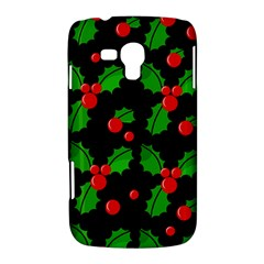 Christmas berries pattern  Samsung Galaxy Duos I8262 Hardshell Case