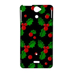 Christmas berries pattern  Sony Xperia V