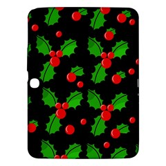 Christmas berries pattern  Samsung Galaxy Tab 3 (10.1 ) P5200 Hardshell Case