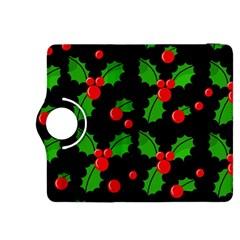 Christmas berries pattern  Kindle Fire HDX 8.9  Flip 360 Case