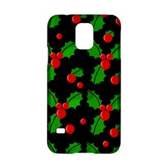 Christmas berries pattern  Samsung Galaxy S5 Hardshell Case