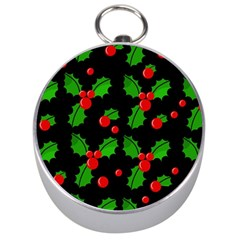 Christmas berries pattern  Silver Compasses