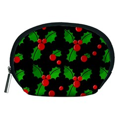 Christmas berries pattern  Accessory Pouches (Medium)