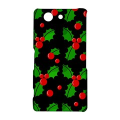 Christmas berries pattern  Sony Xperia Z3 Compact