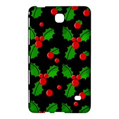 Christmas berries pattern  Samsung Galaxy Tab 4 (8 ) Hardshell Case