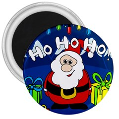 Santa Claus  3  Magnets
