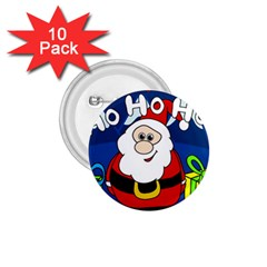 Santa Claus  1.75  Buttons (10 pack)