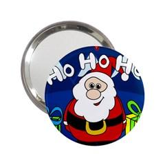 Santa Claus  2.25  Handbag Mirrors