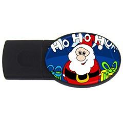 Santa Claus  USB Flash Drive Oval (4 GB)