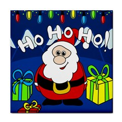 Santa Claus  Face Towel