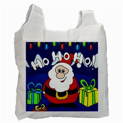 Santa Claus  Recycle Bag (One Side)