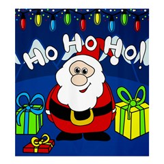 Santa Claus  Shower Curtain 66  x 72  (Large)