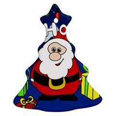 Santa Claus  Christmas Tree Ornament (2 Sides)
