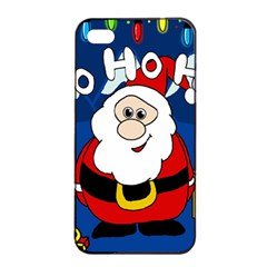 Santa Claus  Apple iPhone 4/4s Seamless Case (Black)