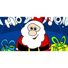 Santa Claus  YOU ARE INVITED 3D Greeting Card (8x4)