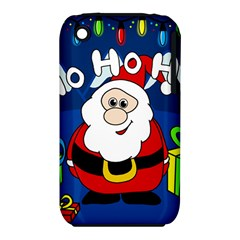 Santa Claus  Apple iPhone 3G/3GS Hardshell Case (PC+Silicone)