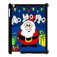 Santa Claus  Apple iPad 3/4 Case (Black)