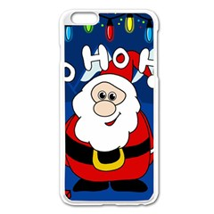 Santa Claus  Apple iPhone 6 Plus/6S Plus Enamel White Case