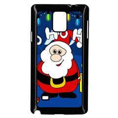 Santa Claus  Samsung Galaxy Note 4 Case (Black)