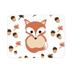 Fox In Autumn Double Sided Flano Blanket (mini)