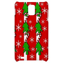 Christmas tree pattern - red Samsung Infuse 4G Hardshell Case