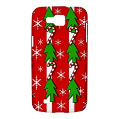 Christmas tree pattern - red Samsung Galaxy Premier I9260 Hardshell Case