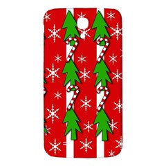 Christmas tree pattern - red Samsung Galaxy Mega I9200 Hardshell Back Case
