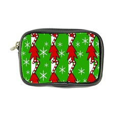 Christmas pattern - green Coin Purse
