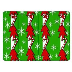 Christmas pattern - green Kindle Fire (1st Gen) Flip Case