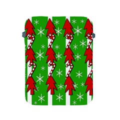 Christmas pattern - green Apple iPad 2/3/4 Protective Soft Cases