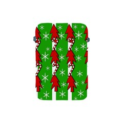 Christmas pattern - green Apple iPad Mini Protective Soft Cases