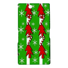 Christmas pattern - green Sony Xperia Z Ultra
