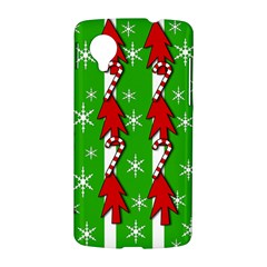 Christmas pattern - green LG Nexus 5
