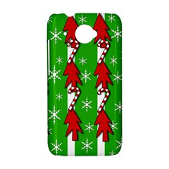 Christmas pattern - green HTC Desire 601 Hardshell Case