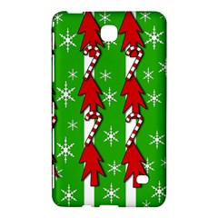 Christmas pattern - green Samsung Galaxy Tab 4 (7 ) Hardshell Case