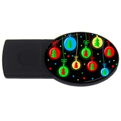 Christmas balls USB Flash Drive Oval (2 GB)