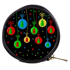 Christmas balls Mini Makeup Bags