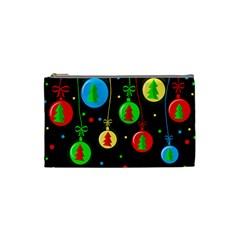 Christmas balls Cosmetic Bag (Small)