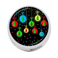 Christmas balls 4-Port USB Hub (Two Sides)