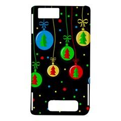 Christmas balls Motorola DROID X2