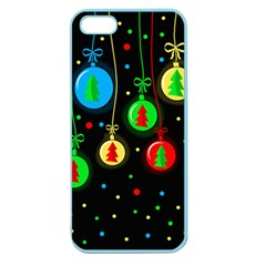 Christmas balls Apple Seamless iPhone 5 Case (Color)