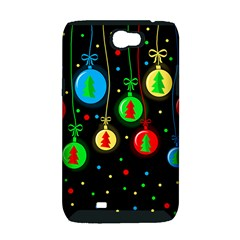 Christmas balls Samsung Galaxy Note 2 Hardshell Case (PC+Silicone)