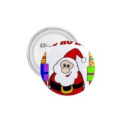 Santa Claus pattern - transparent 1.75  Buttons