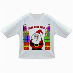 Santa Claus pattern - transparent Infant/Toddler T-Shirts