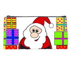 Santa Claus pattern - transparent Pencil Cases
